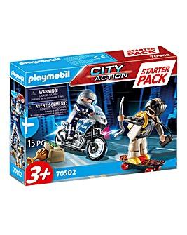 Playmobil 70502 Starter Pack Police Chase