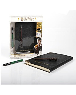 Harry Potter Tom Riddle's Diary Notebook, Pen & Torch