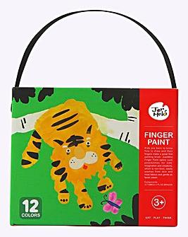 Jar Melo Finger Paint 12 Colour Set