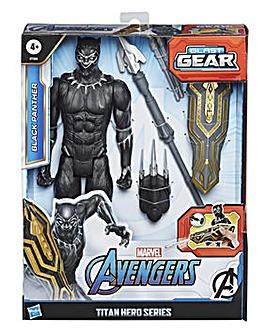 Avengers Titan Hero Series Blast Gear Black Panther