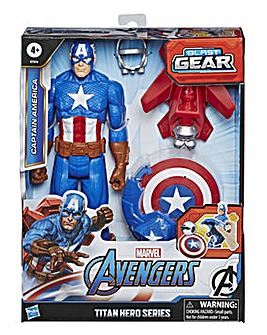 Avengers Titan Hero Series Blast Gear Captain America