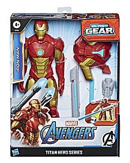 Avengers Titan Hero Series Blast Gear Iron Man