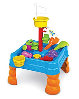 Square Ship Sand & Water Table 21 Pieces
