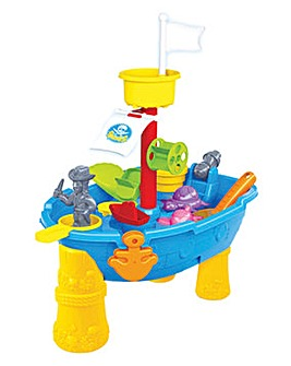 Pirate Ship Sand & Water Table 24 Pieces