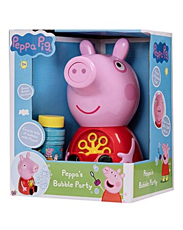 Peppa Pig Bubble Machine