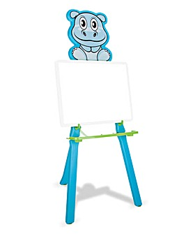 Hippo Drawing Board - Blue