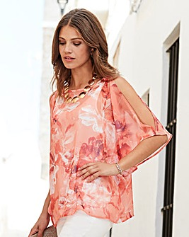 Together Split Sleeve Blouse