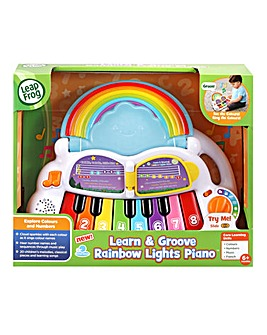 Leapfrog Learn & Groove Rainbow Lights Piano