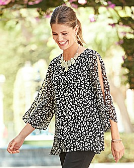 Together Double Layer Blouse