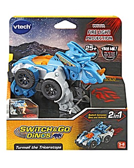 Vtech Switch & Go Dinos Turmoil the Triceratops