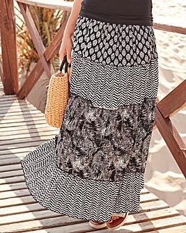 Together Print Skirt