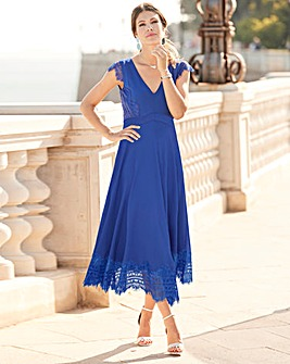 a37cebb740 Together Lace Trim Dress