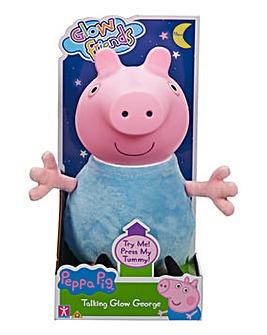 Peppa Pig Glow Friends Talking Glow George Pig