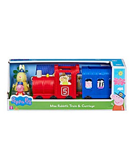 Peppa Pig Miss Rabbit Train and Carriage