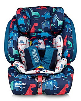 Cosatto Judo Group 1/2/3 Car Seat - D is for Dino