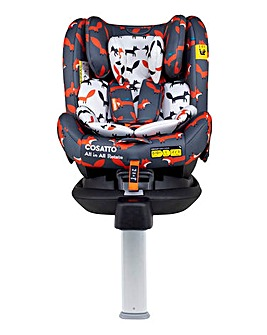 Cosatto All in All Rotate Group 0+/1/2/3 ISOFIX Car Seat - Charcoal Mister Fox