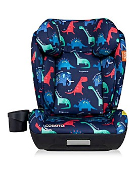 Cosatto Guru High Back Booster Group 3 Isize Car Seat - D is for Dino