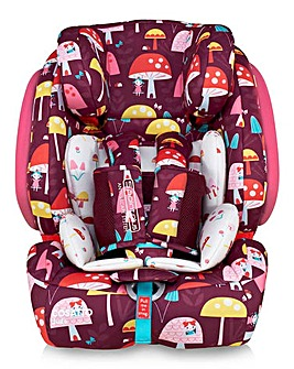 Cosatto Judo Group 1/2/3 Car Seat - Mushroom Magic