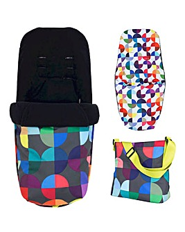 Cosatto Giggle 2in1 Accessory Pack - Kaleidoscope