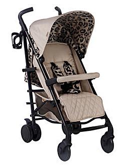 My Babiie Cherish by Dani Dyer Leopard Fawn Lightweight Stroller
