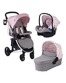 My Babiie Cherish by Dani Dyer Pink Tiger Travel System