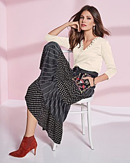 Together Fluted Skirt