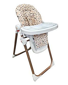 My Babiie Cherish by Dani Dyer Blush Leopard Premium Highchair