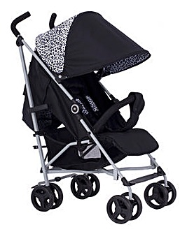 My Babiie DreamiIe by Samantha Faiers Black Leopard Lightweight Stroller