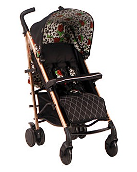My Babiie Believe by Katie Piper Rose Leopard Lightweight Stroller