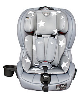 My Babiie Group 1/2/3 Grey Car Seat