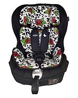 My Babiie Believe by Katie Piper Group 1/2/3 Rose Leopard Isofix Car Seat
