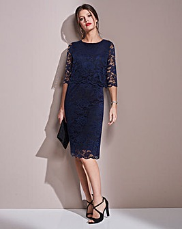 Together Navy Lace Dress