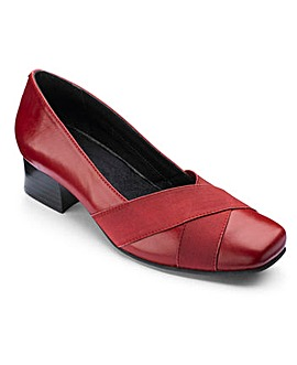 Heavenly Soles Court Shoes Wide EE Fit