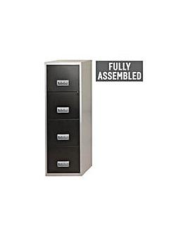 4 Drawer A4 Metal Filing Cabinet