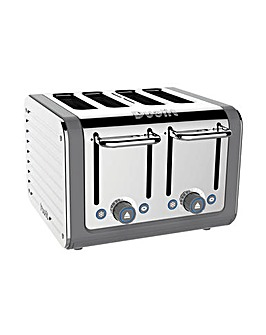 Dualit 46526 Architect Grey 4 Slot Toaster