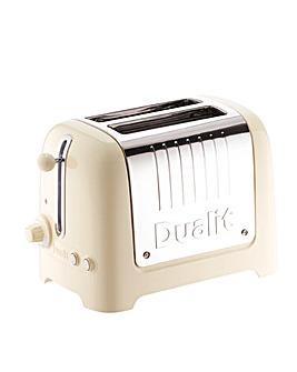 Dualit Lite 2 Slot Cream Toaster