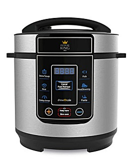 Pressure King Pro by Drew & Cole 3 Litre Chrome Cooker