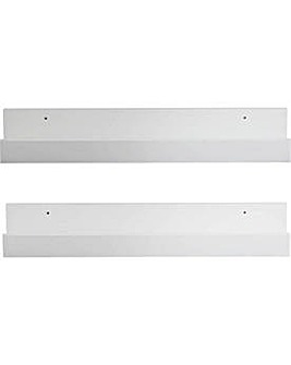 60cm Set of 2 Kids Shelving Display unit