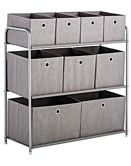 9 Box Storage Unit