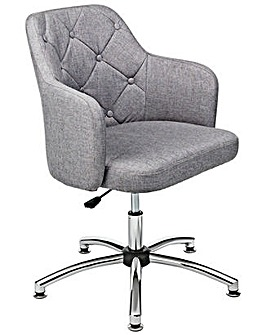 Button Back Office Chair