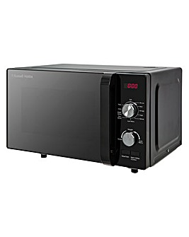 Russell Hobbs RHFM2001B 20L Family Digital Flatbed Microwave - Black