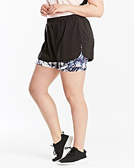 Sports Double Layer Shorts