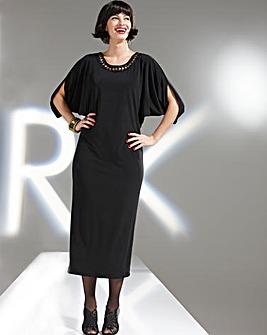 Roland Klein Dress With Jewel Detail