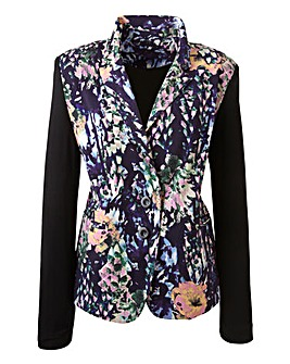 Changes Boutique Oriental Bloom Print Jacket