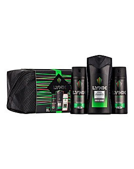 Lynx Africa Washbag Gift Set