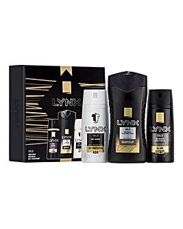 Lynx Gold Trio Gift Set