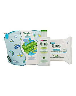 Simple Skin Hydration Beauty Gift Set