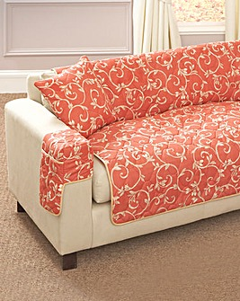Verona Quilted Cushion Cover Pair