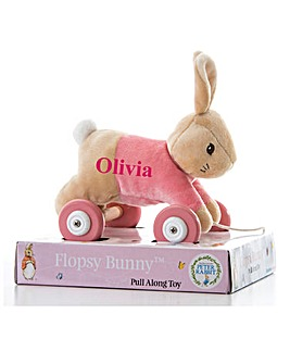 Personalised Flopsy Plush Bunny