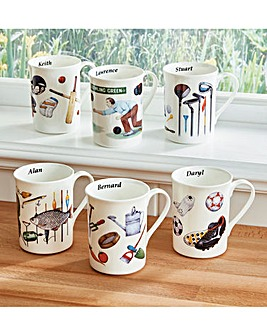 Interest Mugs Personalised